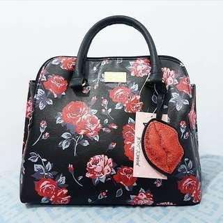 Betsey Johnson Floral Bag