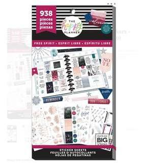 MAMBI Happy Planner Sticker Value Pack - Free Spirit (Boho)
