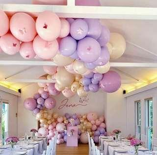 Organic Garland Cloud Flow Wall Balloons