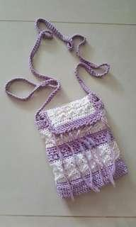 Handmade Knitted Bag