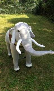 Large Elephant Cycle Ride New