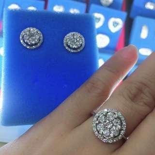 Detachable diamond illusion