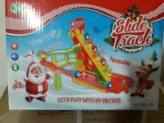 聖誕老公公爬樓梯