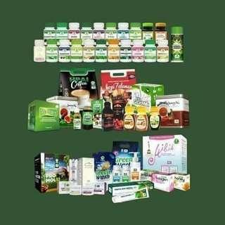 Jual juga macam macam produk herbal dari HPAI