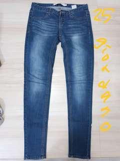 🚚 Giordano牛仔褲 25