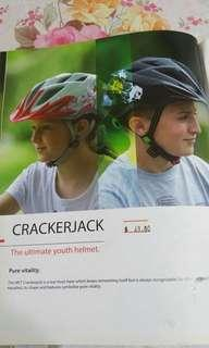 Bicycle helmet for youths
