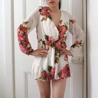 Dream House Pretty Floral Playsuit