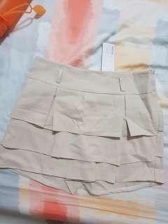 Brand new with tag Beige Skorts