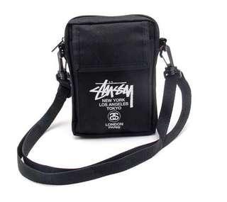 Stussy mini shoulder bag black BRAND NEW !!