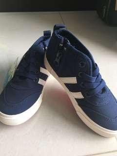 Ankle Cut Canvas Sneakers Shoes