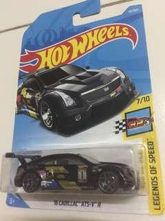 Hot wheels 16 Cadillac ATS-V R