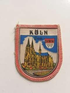 Emblem patch Koln city germany original from 90s