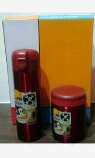 🚚 大嘴猴保溫瓶罐禮盒