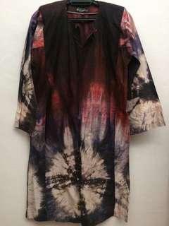 Cotton Tie Dye Kurung