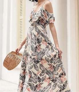Brand new floral maxi dress