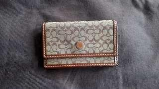 Coach Cards Holder