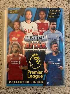 Match Attax 18/19 collector binder non-negotiable!!!