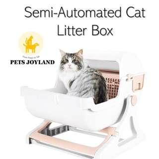 Semi-Auto Cat Litter Box