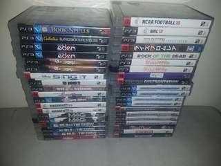 PS3 Games for sale 200 Each only