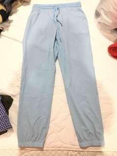 New light blue jogger pant
