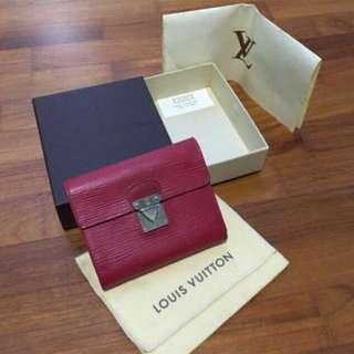 Authentic Preloved Louis Vuitton Epi Leather Wallet