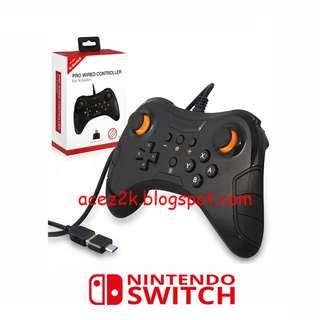 (BNIB) Nintendo Switch Pro / PC / Android / PS3 Wired Pro Controller (Brand New Boxed)