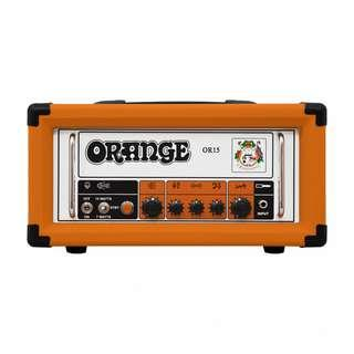Orange OR15H 15W Guitar Tube Amp Head (last 2 sets) (limited time)