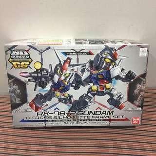 #gunpla SD Gundam cCross Silhouette rx-78-2