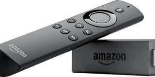 Amazon fire tv stick with alexa support