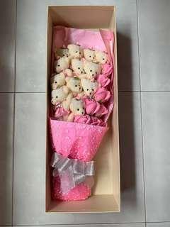 Big bouquet roses