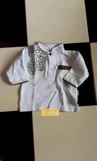 #Obralsalebajuanak baju anak putih