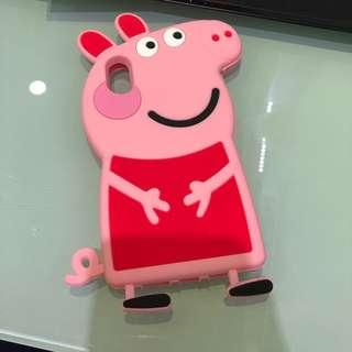 Peppa pig IPHONE X rubber NEW
