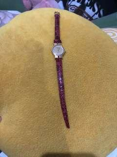 Raymond weil 18k gold electroplated authentic