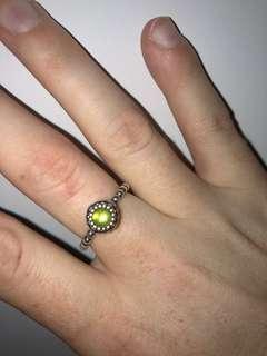 Pandora Birthstone Ring size 54