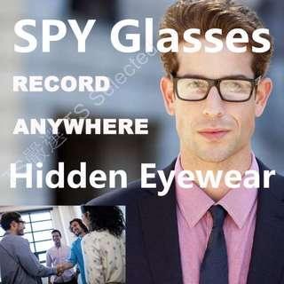 🚚 隱形 密錄眼鏡 錄影眼鏡 攝影眼鏡 眼鏡攝影機 密錄器 汽車 機車 行車記錄器 針孔攝影機 偽裝 蒐證 徵信 秘錄 間諜 攝影機 HD SPY camera glasses hidden eyewear DVR video recorder
