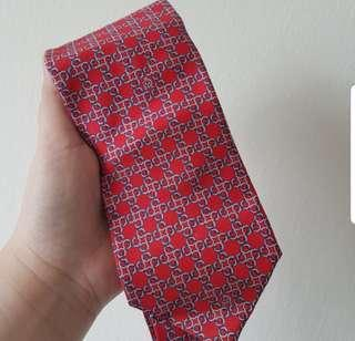 🚚 BN MENS DUNHILL RED LONDON TIE