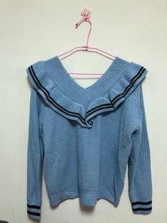🚚 3129 halo購買 全新未穿過 長袖針織上衣
