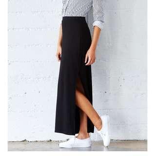 Zalora Slit Pencil Skirt