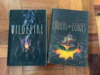 Wildefire Series by Karsten Knight