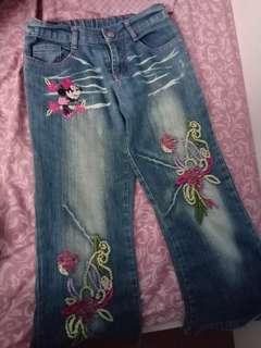 Celana jeans disney size12