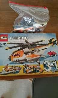Lego 7345 creator 3in1