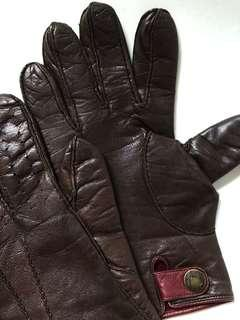 Ted Baker winter gloves cashmere wool  lamb skin