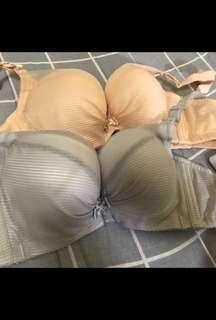 🚚 依夢 全新 32A罩杯內衣 胸罩兩件組集中厚墊