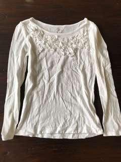 美國知名品牌Place淑女風純棉上衣