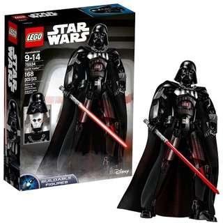 Lego Star Wars 75534 Darth Vader (FREE POSTAGE!!)