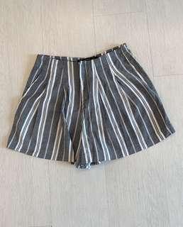 Zara Stripes Shorts
