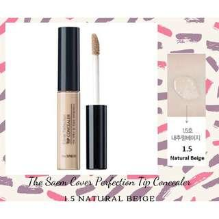 The saem cover perfection tip concealer (1.5 natural beige)