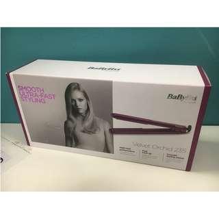 BaByliss Velvet Orchid 235 Hair Straightener 直髮器