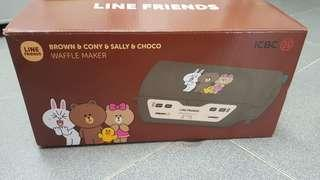ICBC X LINE FRIENDS 窩夫機 Waffle Maker
