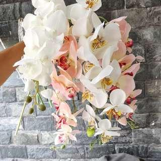Artificial Phalaenopsis Orchids